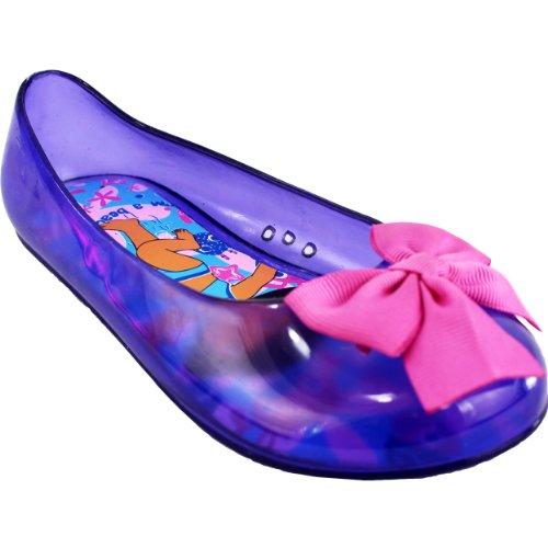 """Dora the Explorer """"Beach Explorer"""" Pink/Purple Ballet Flats"""