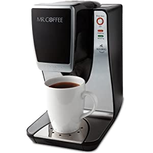 Mr. Coffee Single Serve Powered by Keurig Brewing Technology