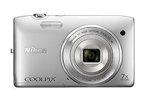 Nikon デジタルカメラ COOLPIX (クールピクス) S3500SL クリスタルシルバー