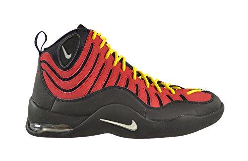 Nike Air Bakin' Men's Shoes Black/Metallic Silver-Varsity Red-Orange 316383-001 (13 D(M) US) (Nike Air Bakin compare prices)