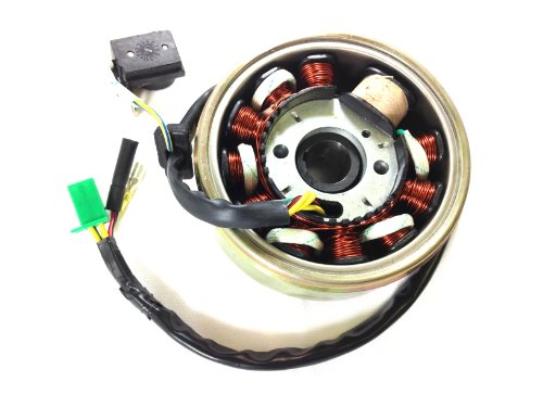 3LE 11 COILS GY6 150CC STATOR COIL MAGNETO FLYWHEEL SCOOTER KAZUMA ATV 125CC IS28+