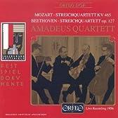 モーツァルト:弦楽四重奏曲第19番「不協和音」 他
