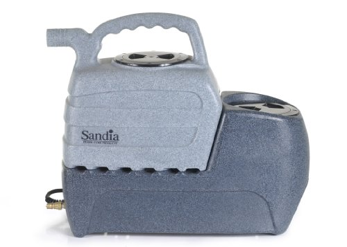 Sandia 50-2000 Spot-Xtract Commercial Extractor with Clear Viewith Plastic Hand Tool, 2 Gallon Capacity