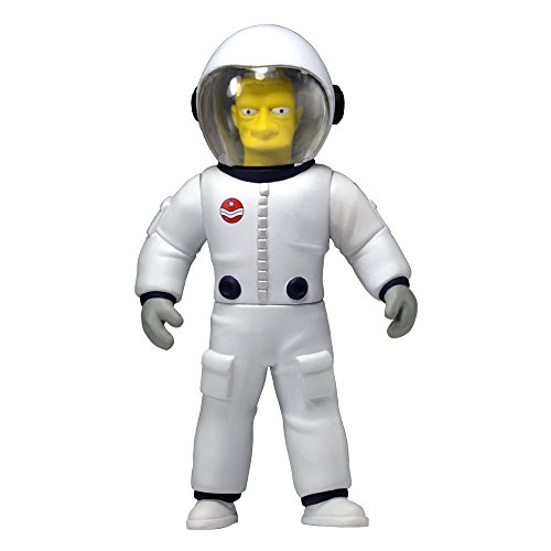 "NECA Simpsons 25th Anniversary Series 4 Buzz Aldrin 5"" Celebrity Action Figure - 1"
