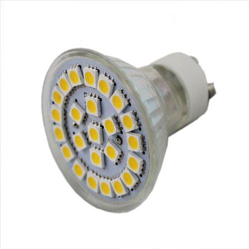 High Brightness Gu10 Pure White Spot Light Lamp 24Led 5050Smd 3W 120Degree Ac110V Led Bulb