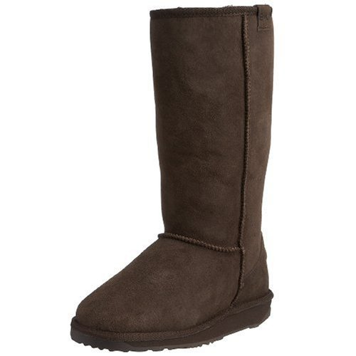 Emu Australia Women's Stinger Hi Chocolate Mid Calf Boots W10001 7 UK
