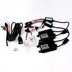 See 100W 12V H1 AC High Efficiency Hid Xenon Conversion Kit Ceramic Base Bulbs 8000K Details