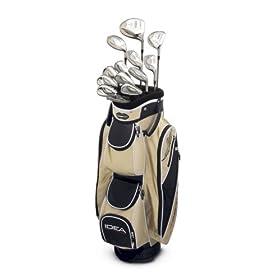 Adams Golf A3OS 8-Piece Ladies Intergrated Set (4-9 Hybrids, PW, SW) -Sand