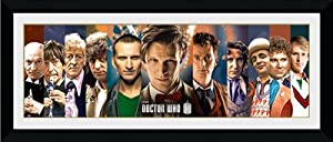 GB eye 30 x 12-inch Doctor Who 11 Doctors Framed Photograph, Assorted
