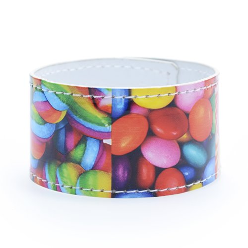 Dylan's Candy Bar Faux Leather Bracelet - Candy Cubes