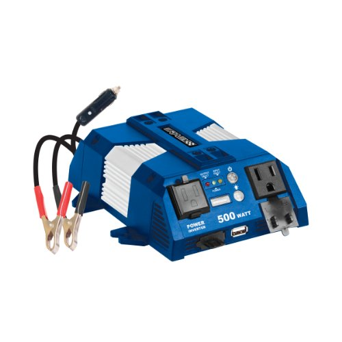 Rally 7637 Marine Grade 500W Power Inverter with USB Charging Port and Map Light