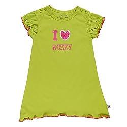 Buzzy Unisex Drizella - Dress (Drizella_Lime_2-4M)