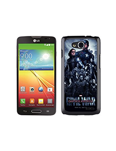 Marvel Comics DC (Lg Optimus L90) Case for Boys Lg Optimus L90 Case Cute Design * Captain America The Winter Soldier * Hard Plastic (Lg L90 Captain America Case compare prices)