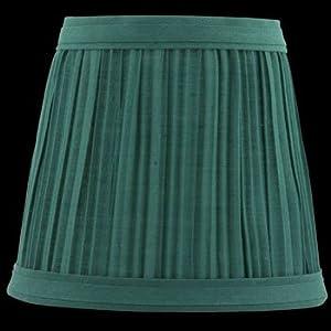 Lamp Shades Hunter Green Fabric Lamp Shade 4 1/16 H Clip On