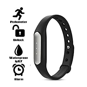 Bluetooth Wristband Fitness Tracker Band( 2 Year warranty) Compatible with Micromax Q36