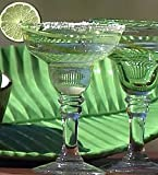 Global Amici Ole Green Margarita Glass 12-oz.