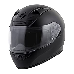 Scorpion EXO-R710 Solid Street Motorcycle Helmet (Black, XX-Large) by Scorpion