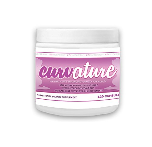 Curvature | Breast Enhancement Pills | Butt Enhancer | Natural Enlargement & Growth