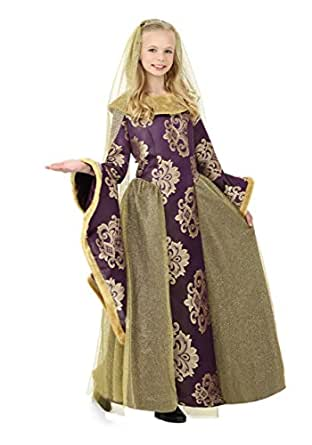Fun Costumes girls Child Renaissance Queen Costume