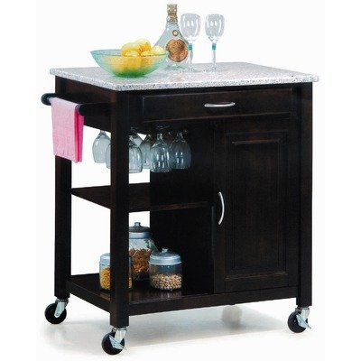 Cheap New Spec 511002 Minibar-01 Mini Kitchen Cart in Walnut (B003VW0W84)