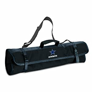 NFL Dallas Cowboys 3-Piece BBQ Tool Tote