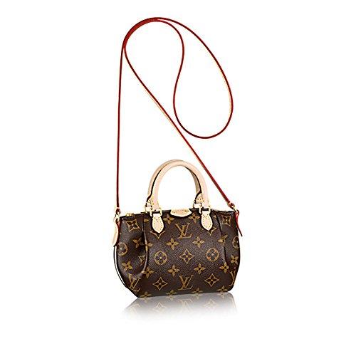Louis Vuitton Monogram Canvas Nano Turenne Cross Body Shoulder Handbag Article: M61253 (Louis Vuitton Clothes compare prices)