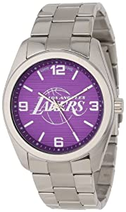 Game Time Unisex NBA-ELI-LAL Elite Los Angeles Lakers 3-Hand Analog Watch by Game Time