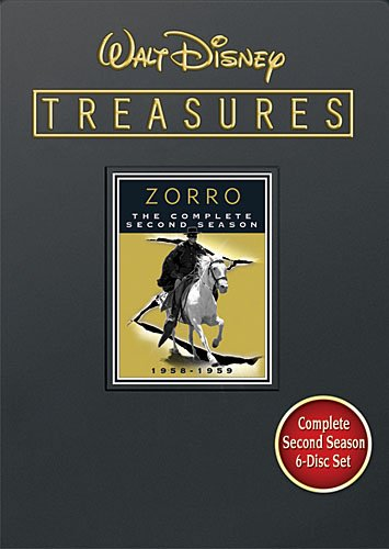 Cover art for  Walt Disney Treasures: Zorro - The Complete Second Season