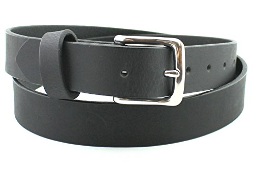 -soft-black-stainless-mens-leather-belt-men-full-grain-solid-custom-hand-made-usa-125-and-15-inch
