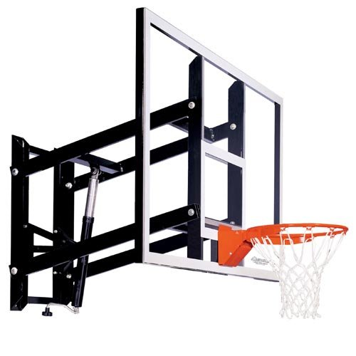 Goalsetter Systems GS72 Wall-Mount Adjustable Basketball Hoop with 72 Inch Acrylic Backboard