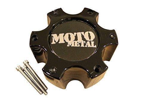 Moto Metal 909 957 959 Gloss Black Wheel 6 Lug Rim Center Cap 306B139-6H (6 Lug Center Caps compare prices)
