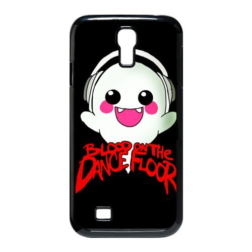 D-1 Music Band Blood on the Dance Floor Print Black Case With Hard Shell Cover for SamSung Galaxy S4 I9500