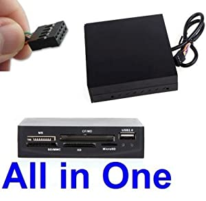 "SANOXY 14 in 1 3.5"" Internal Memory Card Reader With USB 2.0 Port"