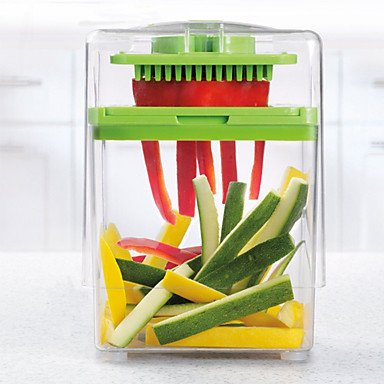 Kitchen boutique convenience and durability Chop Magic Chopper Vegetable Fruit Slicer Dicer 1412.517 cm (Buffalo Chopper Knife compare prices)