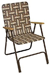 brn high back web chair folding patio