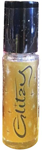 Lipcote Glitzy Glitter Lip Gloss Lipstick Sealer (Gold)