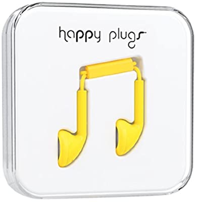 Happy Plugs 7706 Earbuds Yellow