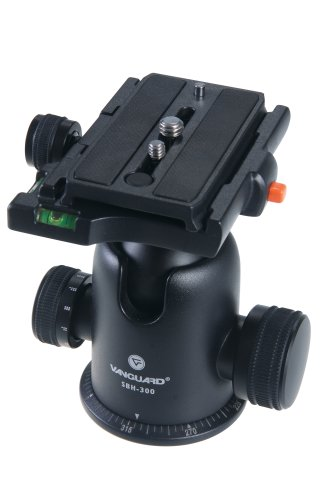 Vanguard Sbh-300 Large-Format Magnesium Alloy Ballhead With Two Onboard Bubble Levels