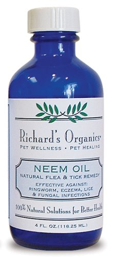 Synergy Richard's Organics Pet Wellness/Pet Healing Neem Oil, 4 Ounce