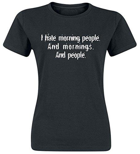 Morning People Maglia donna nero S