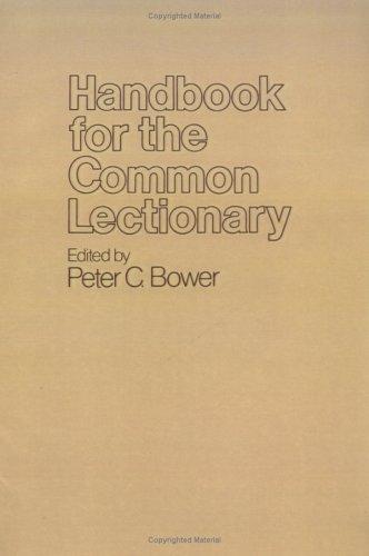 Handbook for the Common Lectionary, GORDON THOMAS