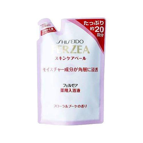 フェルゼア 薬用スキンケア入浴液 フローラルブーケ 詰替用 500ml