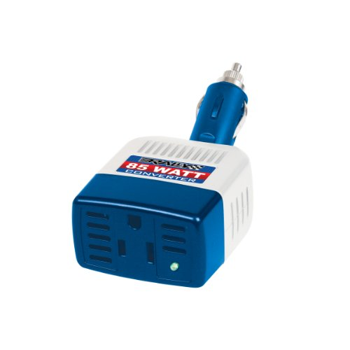 Rally 7635 Marine 85W Power Converter with 120V AC Power Outlet, USB Accessory Charge Port with Cover and Swivel Plug