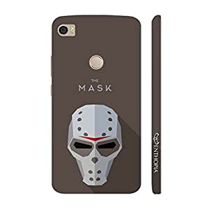 Enthopia Designer Hardshell Case Bad Man Mask 2 Back Cover for Xiaomi Mi Max