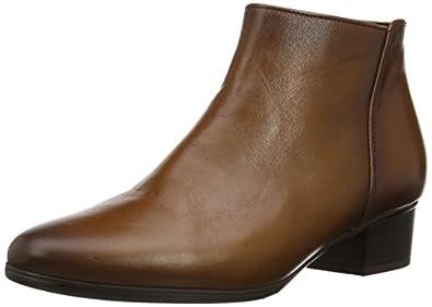 Gabor Shoes 95.600.22 Damen Kurzschaft Stiefel, Braun (sattel (Effekt)), 37.5 EU (4.5 Damen UK)