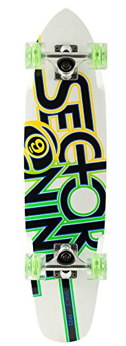 Sector 9 Wedge Cruiser Complete White 31.3 X 7.25In