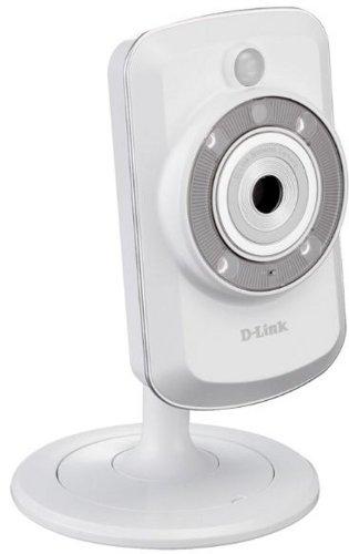 D-Link DCS-942L Caméra IP WiFi N Mydlink avec vision de nuit 300 Mbps Ethernet Wifi Blanc