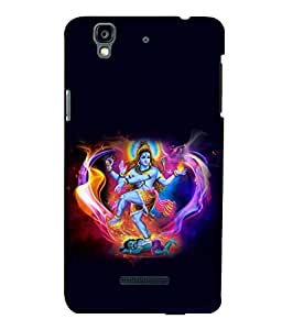 printtech Lord God Shiva Om Back Case Cover for YU Yureka::Micromax Yureka AO5510