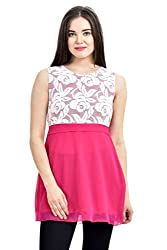 Femninora Awesome Pink Color Tunic