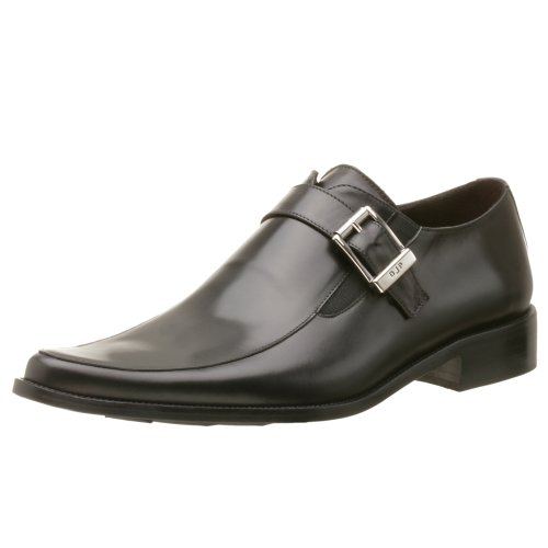 Donald J Pliner Men's Jimmy Monk Strap,Black,12 M